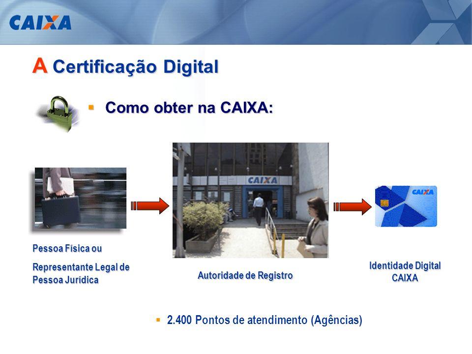A Certificação Digital