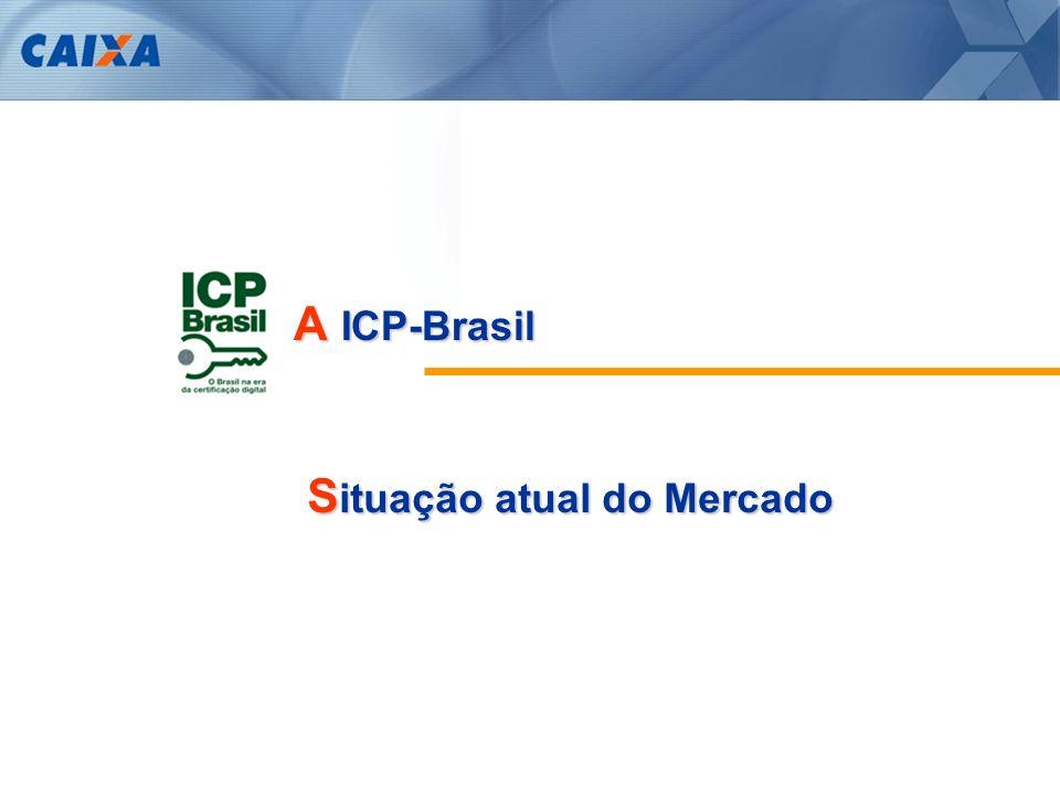 A ICP-Brasil Situação atual do Mercado