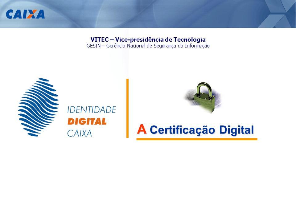 VITEC – Vice-presidência de Tecnologia