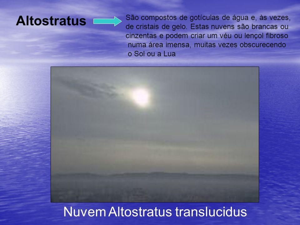 Nuvem Altostratus translucidus