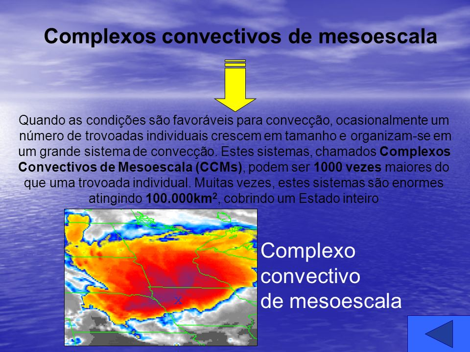 Complexos convectivos de mesoescala