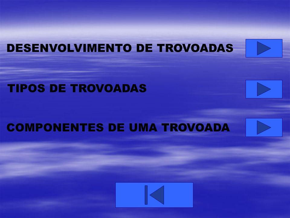 DESENVOLVIMENTO DE TROVOADAS