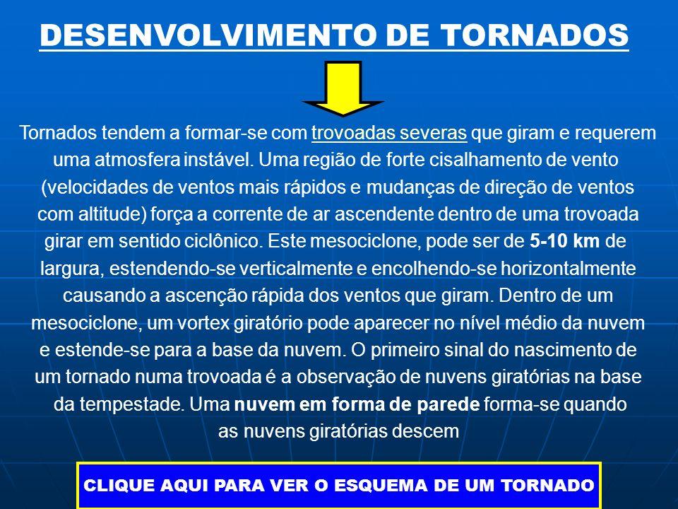 DESENVOLVIMENTO DE TORNADOS