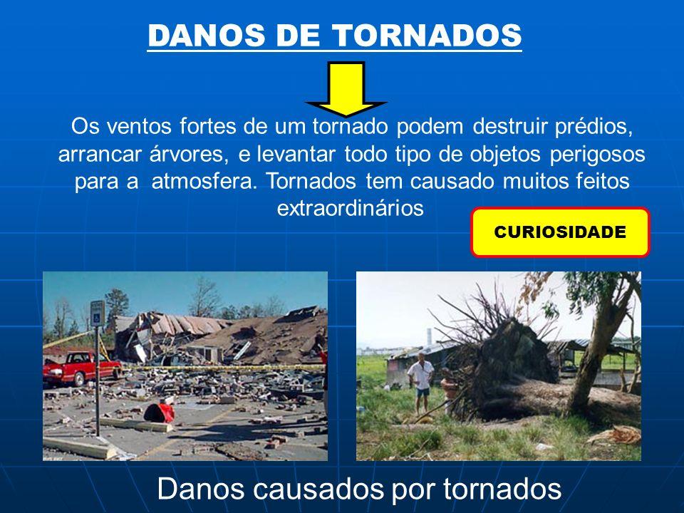 Danos causados por tornados