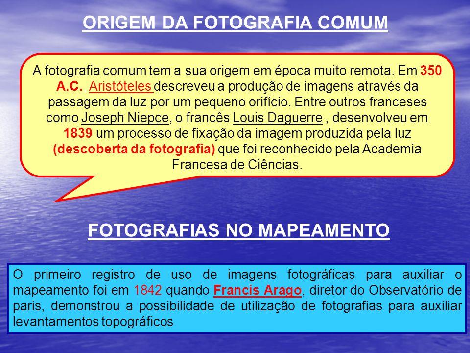 ORIGEM DA FOTOGRAFIA COMUM