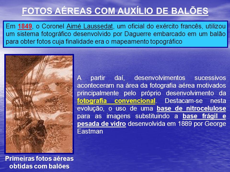 FOTOS AÉREAS COM AUXÍLIO DE BALÕES