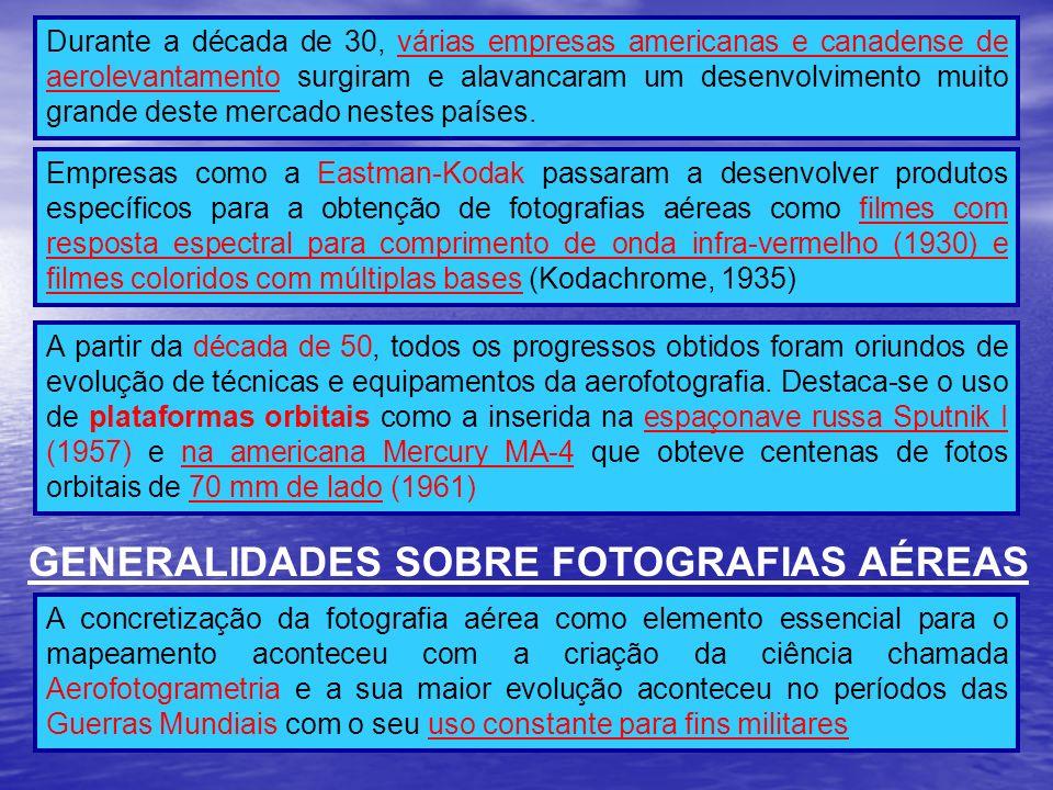 GENERALIDADES SOBRE FOTOGRAFIAS AÉREAS