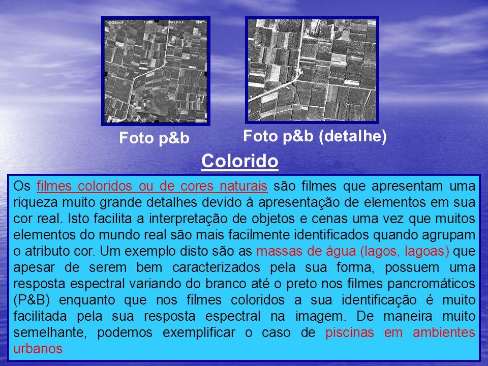 Colorido Foto p&b (detalhe) Foto p&b