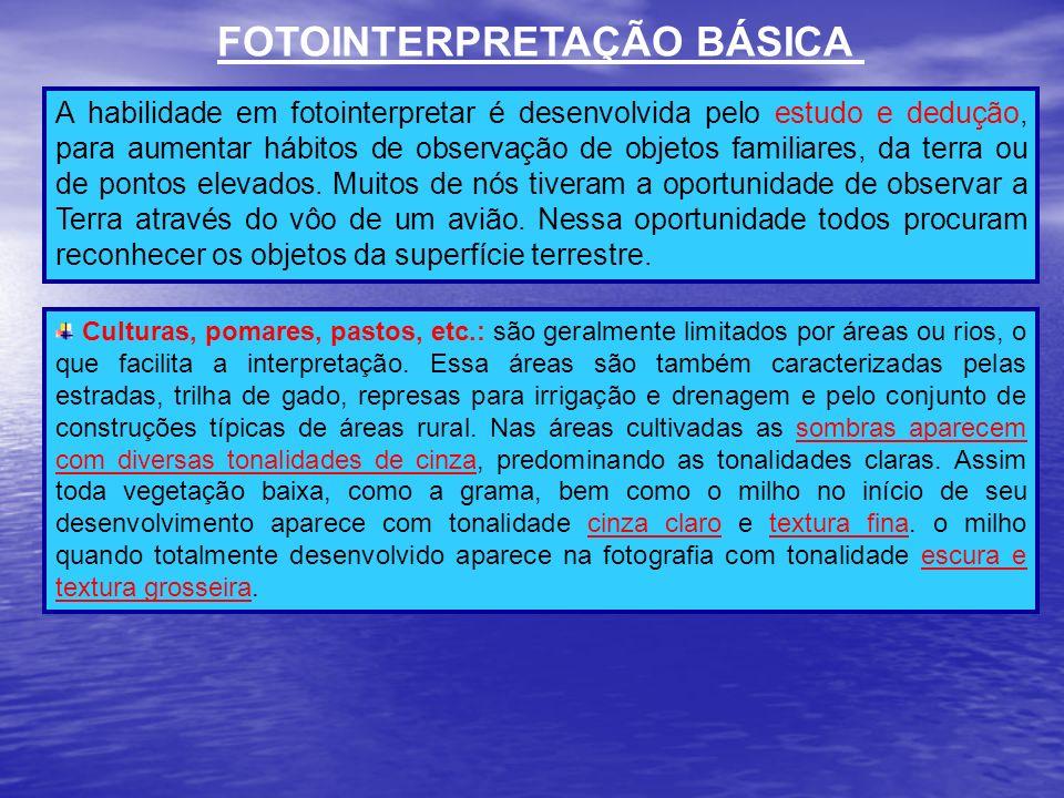 FOTOINTERPRETAÇÃO BÁSICA