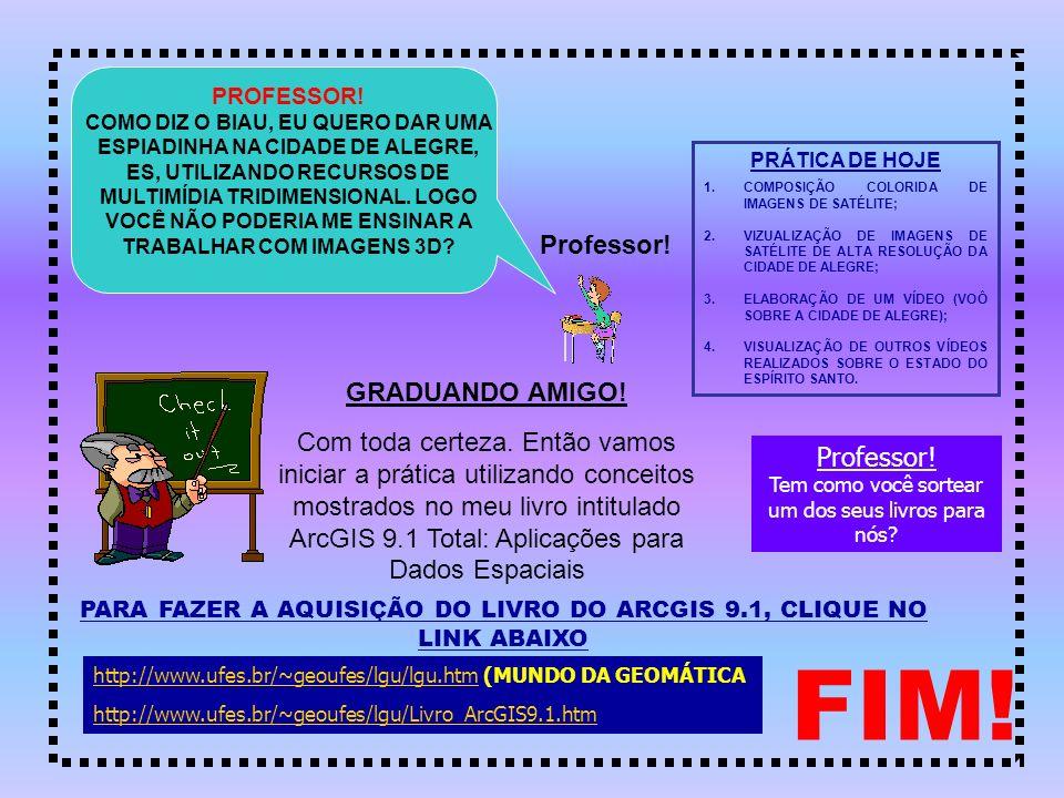 PARA FAZER A AQUISIÇÃO DO LIVRO DO ARCGIS 9.1, CLIQUE NO LINK ABAIXO
