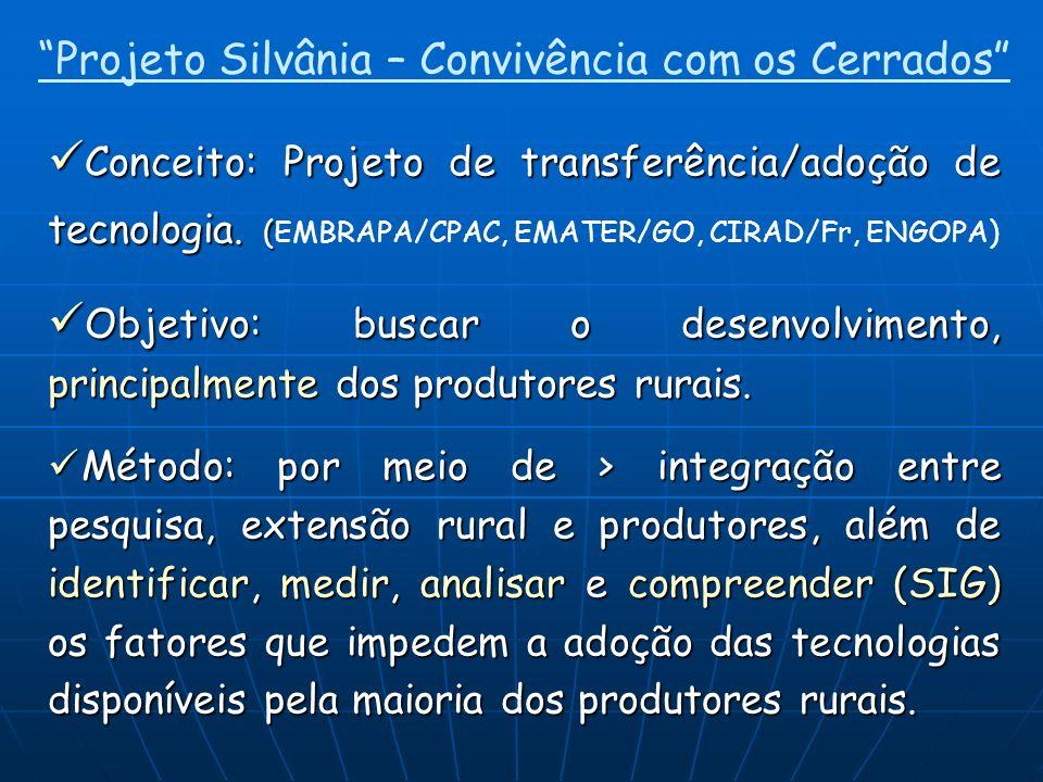 Projeto Silvânia – Convivência com os Cerrados