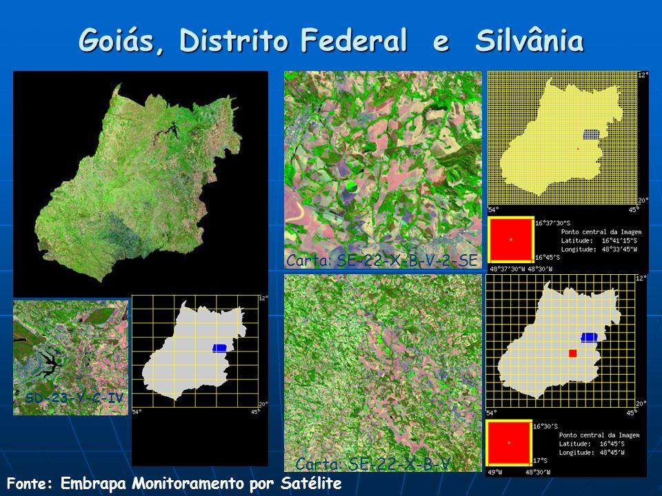 Goiás, Distrito Federal e Silvânia