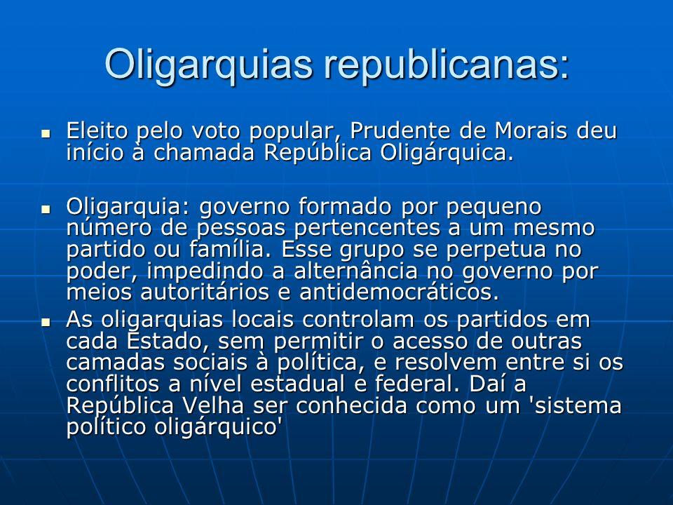 Oligarquias republicanas: