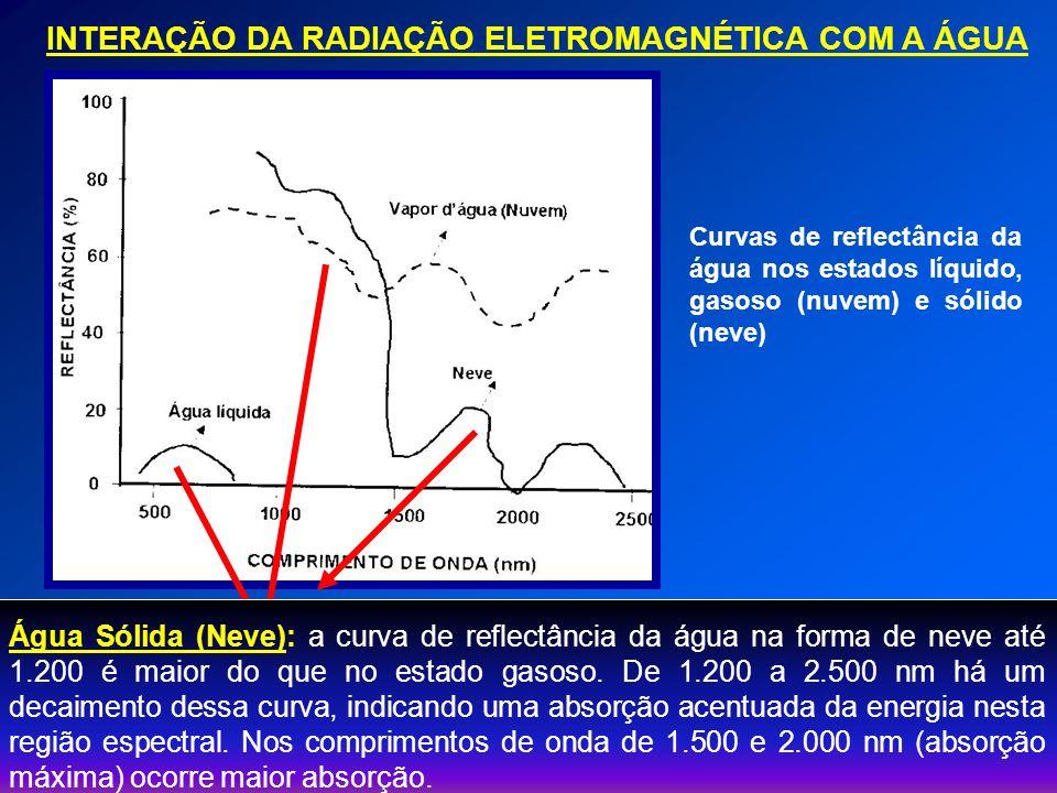 INTERAÇÃO DA RADIAÇÃO ELETROMAGNÉTICA COM A ÁGUA