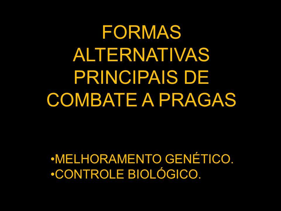 PRINCIPAIS DE COMBATE A PRAGAS