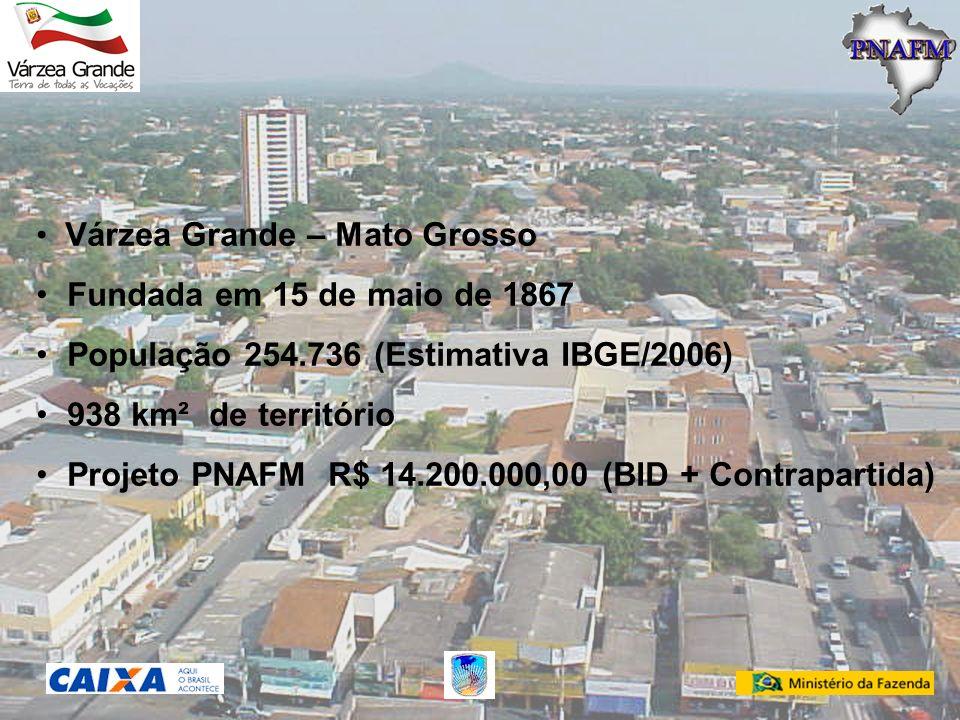 População 254.736 (Estimativa IBGE/2006) 938 km² de território