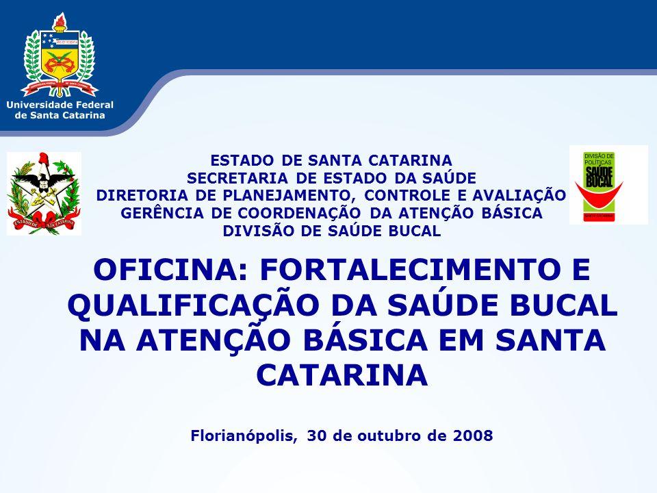 Florianópolis, 30 de outubro de 2008