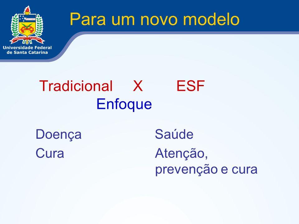 Tradicional X ESF Enfoque