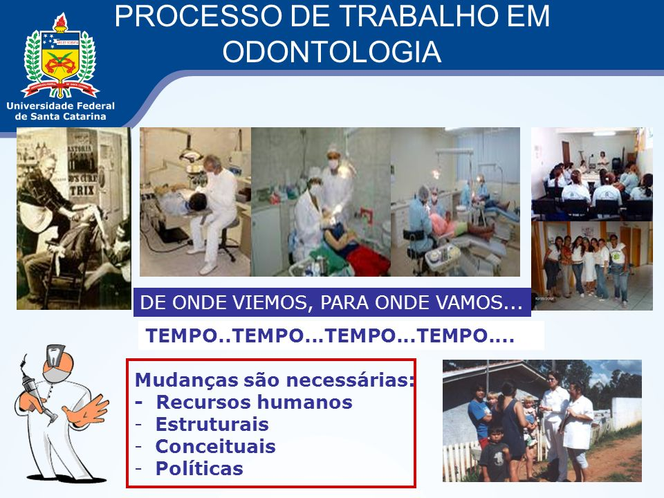 PROCESSO DE TRABALHO EM ODONTOLOGIA