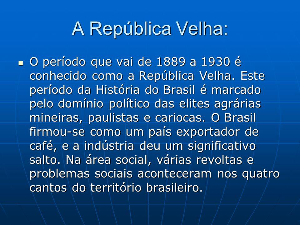 A República Velha: