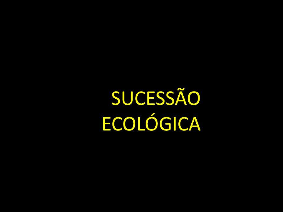 SU SUCESSÃO ECOLÓGICA