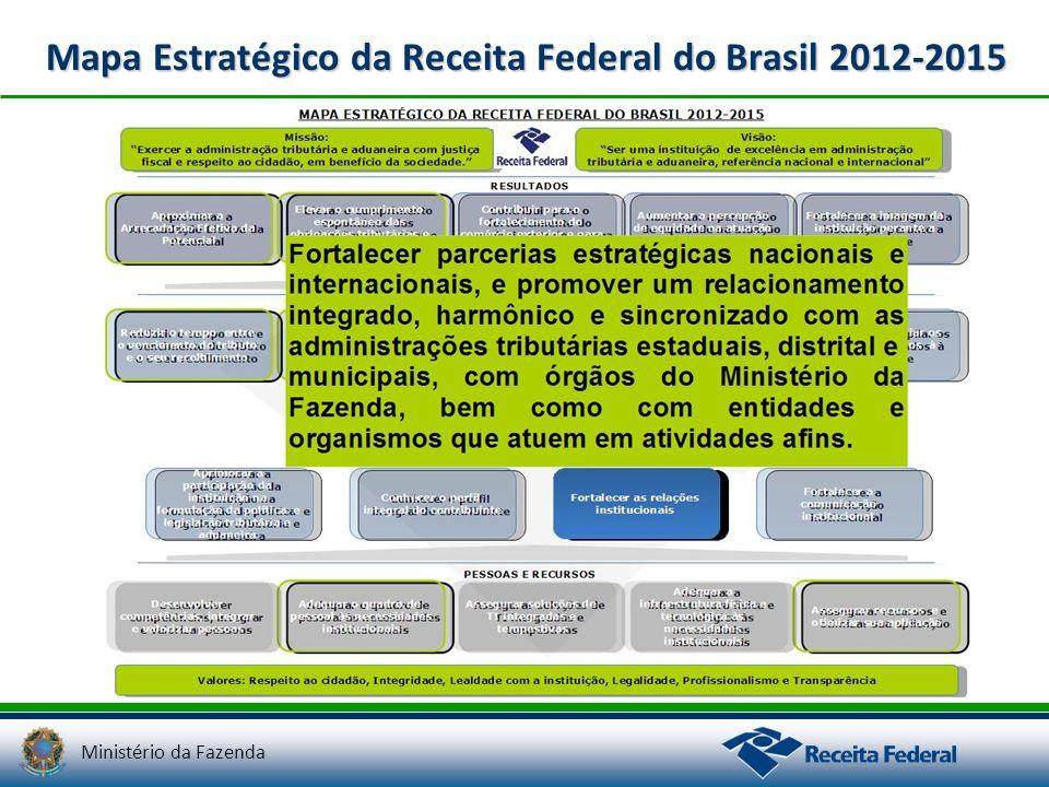 Mapa Estratégico da Receita Federal do Brasil 2012-2015