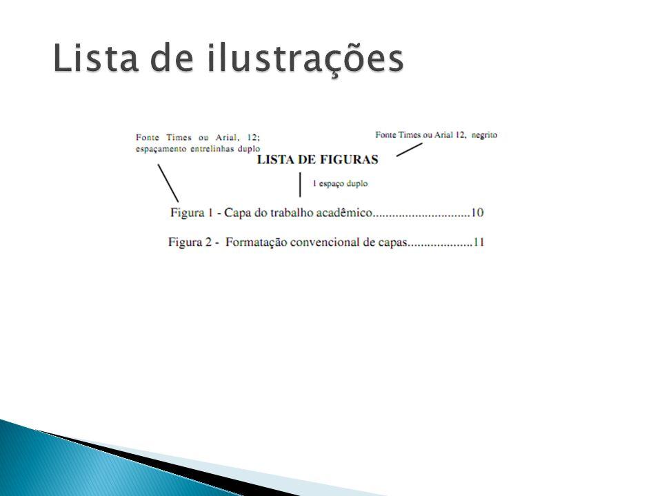 Lista de ilustrações