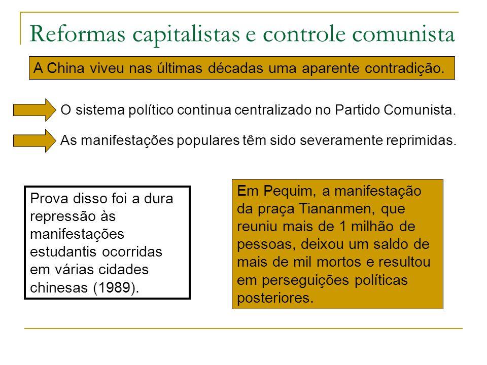 Reformas capitalistas e controle comunista