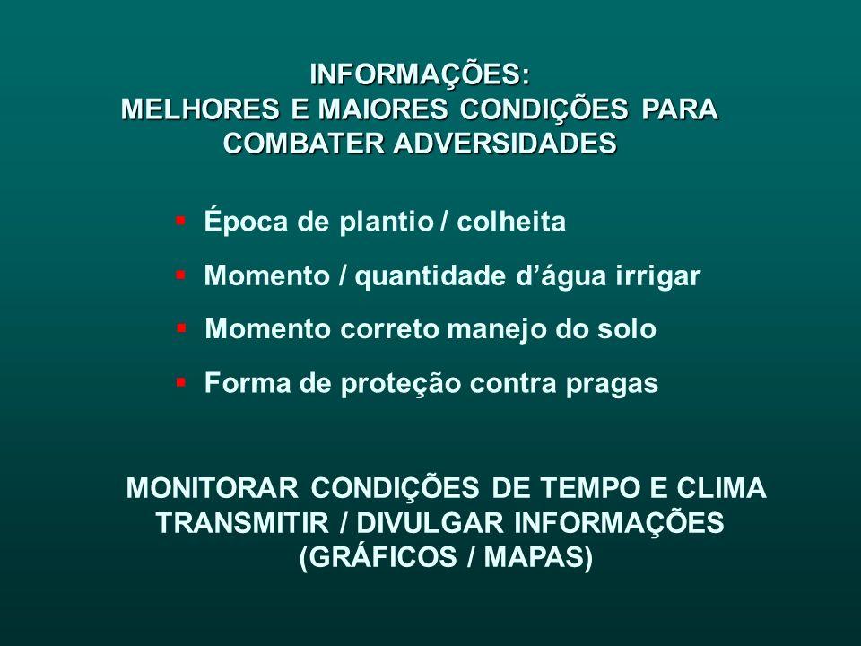 MELHORES E MAIORES CONDIÇÕES PARA COMBATER ADVERSIDADES
