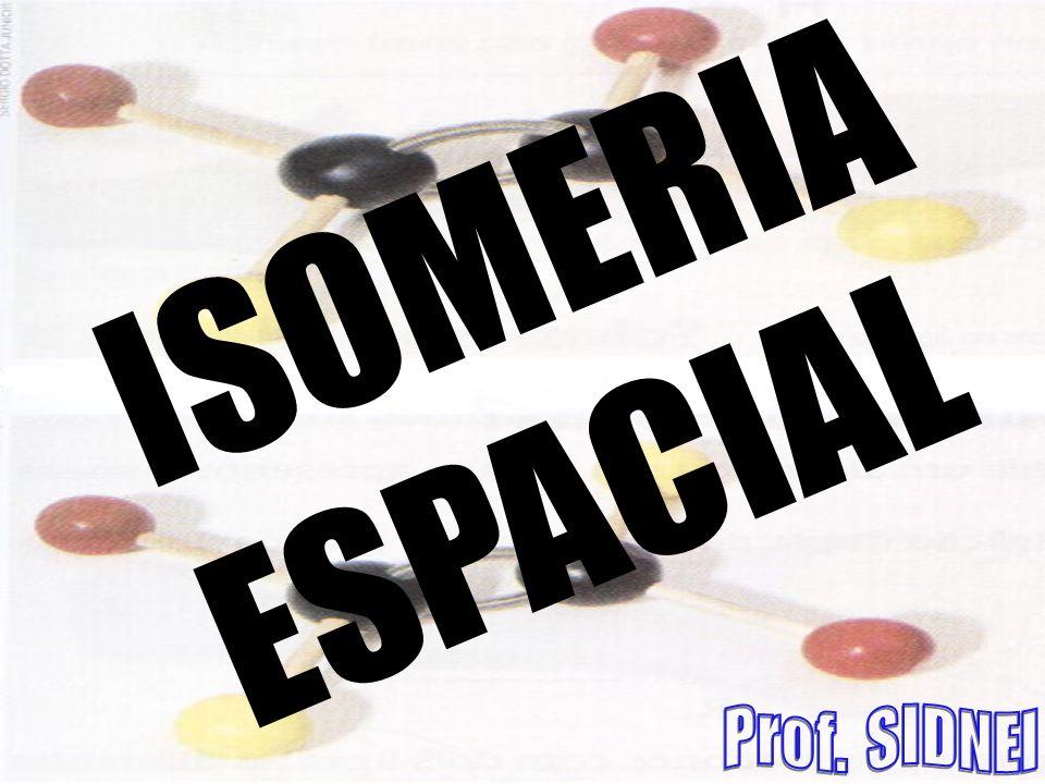 ISOMERIA ESPACIAL Prof. SIDNEI