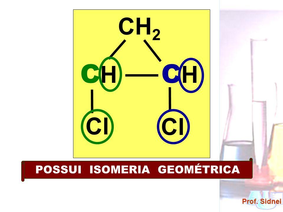 POSSUI ISOMERIA GEOMÉTRICA