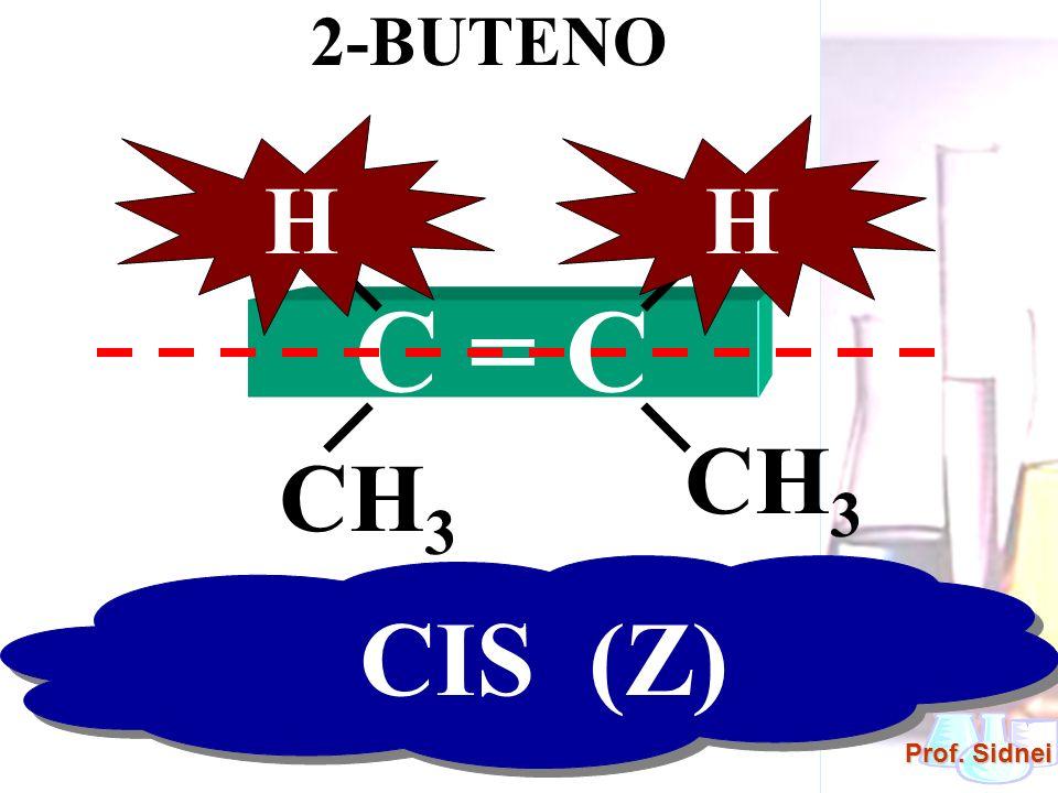2-BUTENO H H H H C = C CH3 CH3 CIS (Z)