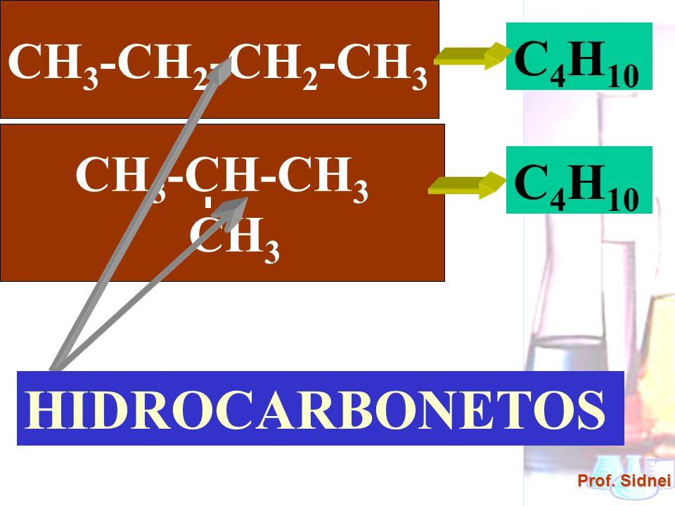 CH3-CH2-CH2-CH3 C4H10 CH3-CH-CH3 CH3 C4H10 HIDROCARBONETOS