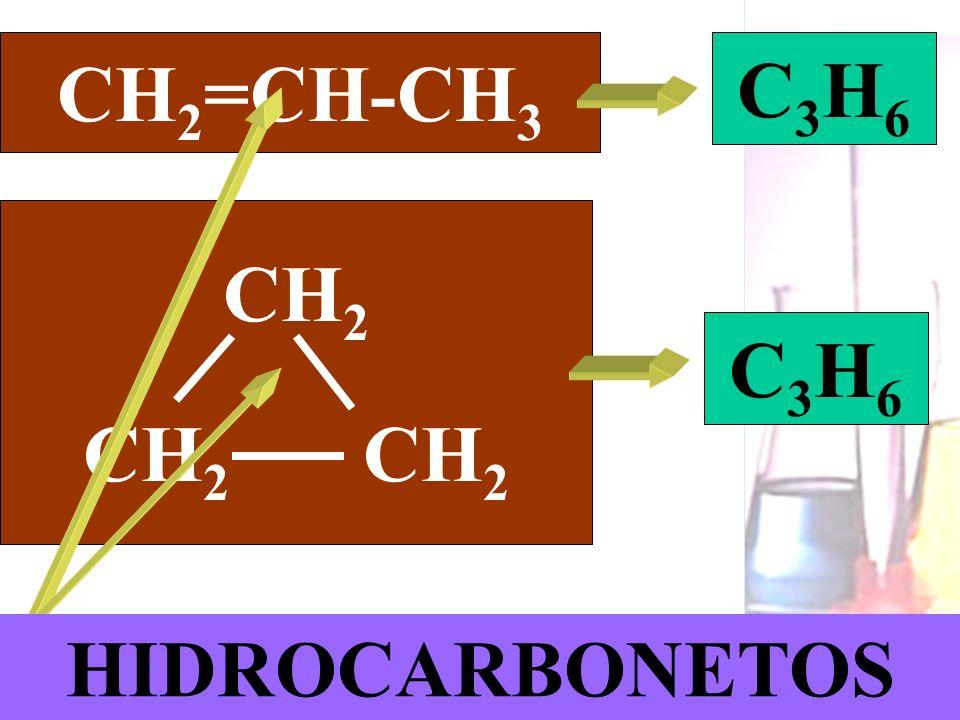 CH2=CH-CH3 C3H6 CH2 CH2 CH2 C3H6 HIDROCARBONETOS