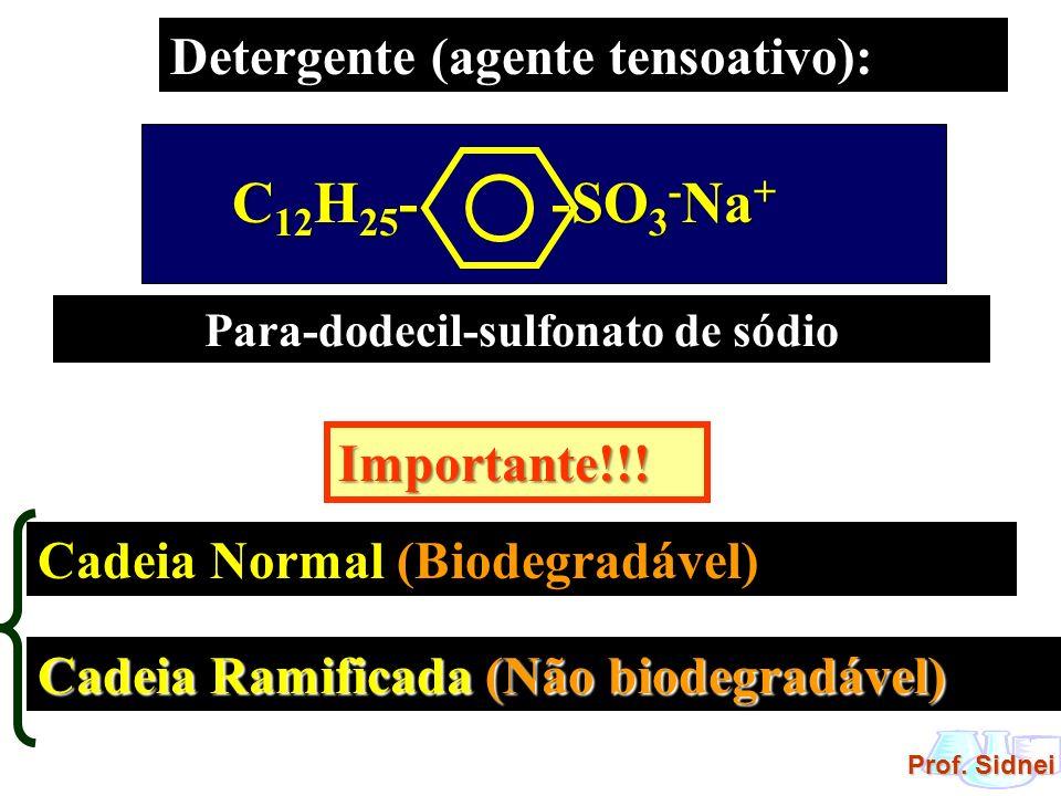 Para-dodecil-sulfonato de sódio