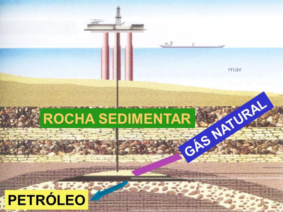 ROCHA SEDIMENTAR GÁS NATURAL PETRÓLEO