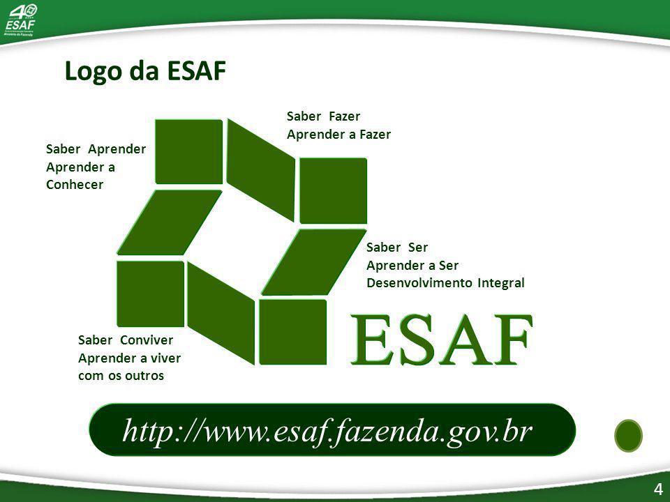 http://www.esaf.fazenda.gov.br Logo da ESAF Saber Fazer