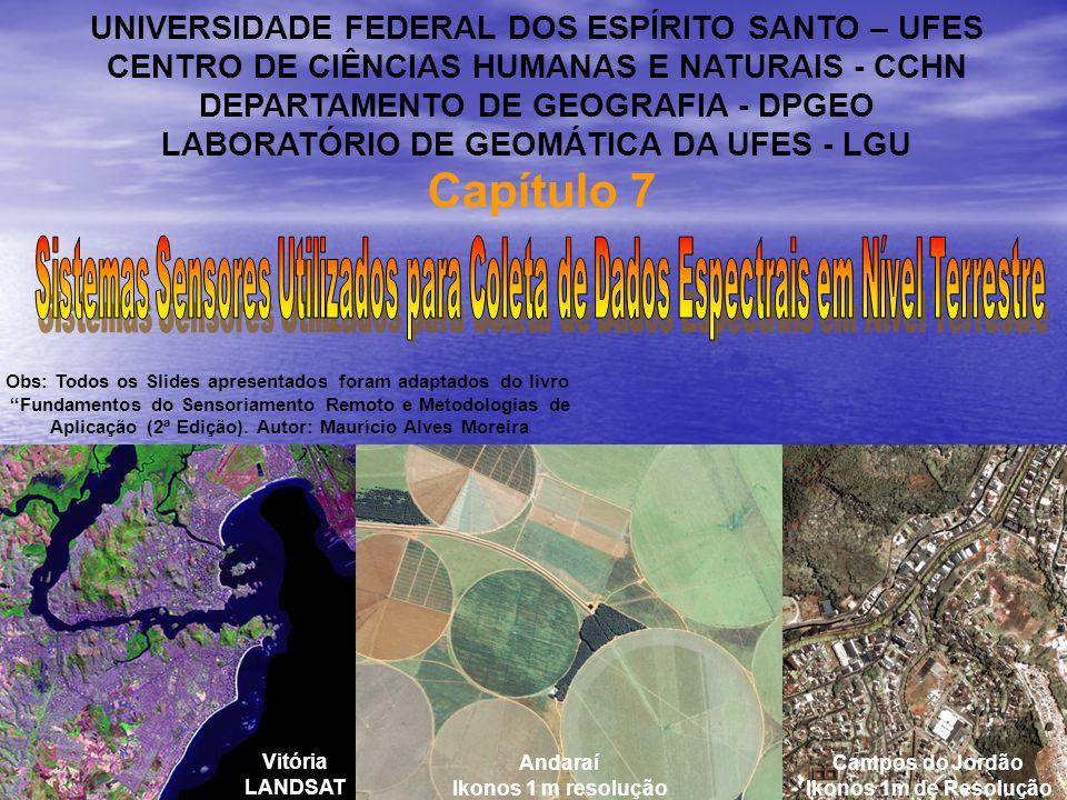 Capítulo 7 UNIVERSIDADE FEDERAL DOS ESPÍRITO SANTO – UFES