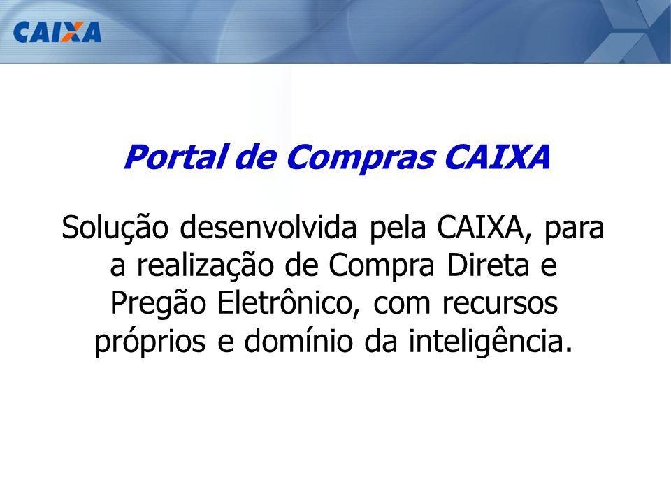 Portal de Compras CAIXA