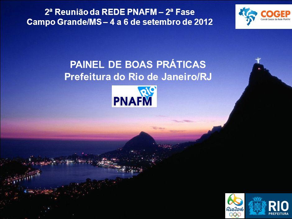 PAINEL DE BOAS PRÁTICAS Prefeitura do Rio de Janeiro/RJ