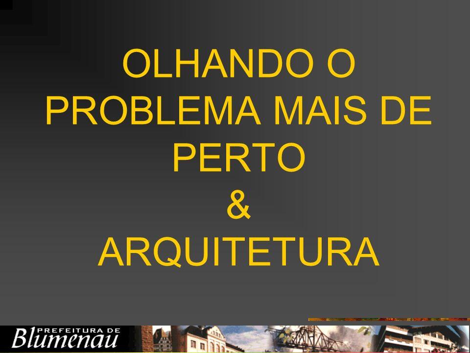 OLHANDO O PROBLEMA MAIS DE PERTO & ARQUITETURA