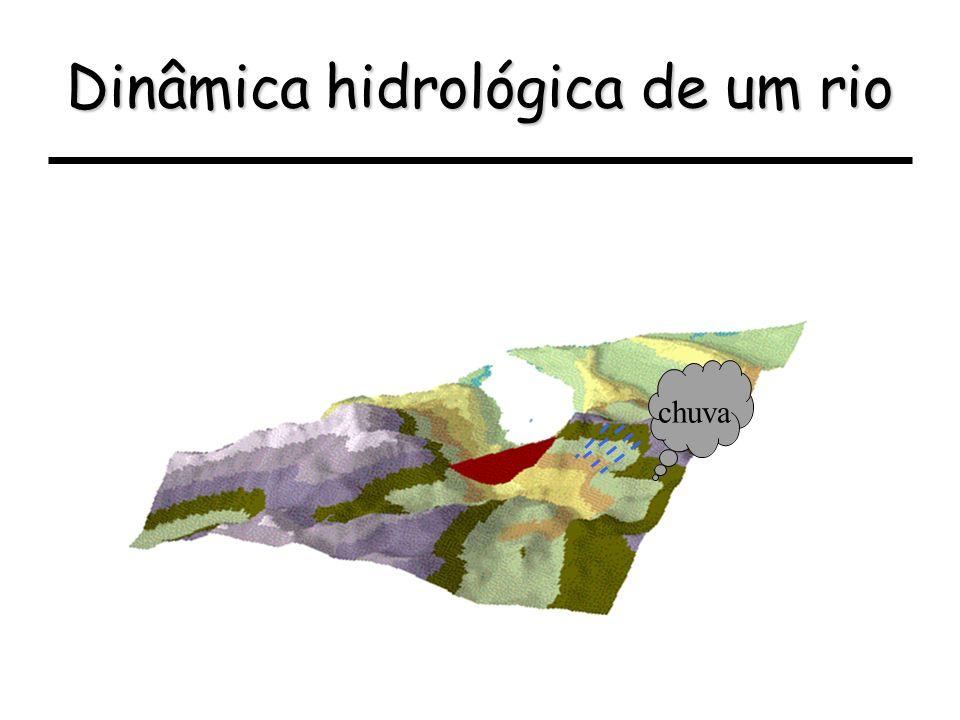 Dinâmica hidrológica de um rio