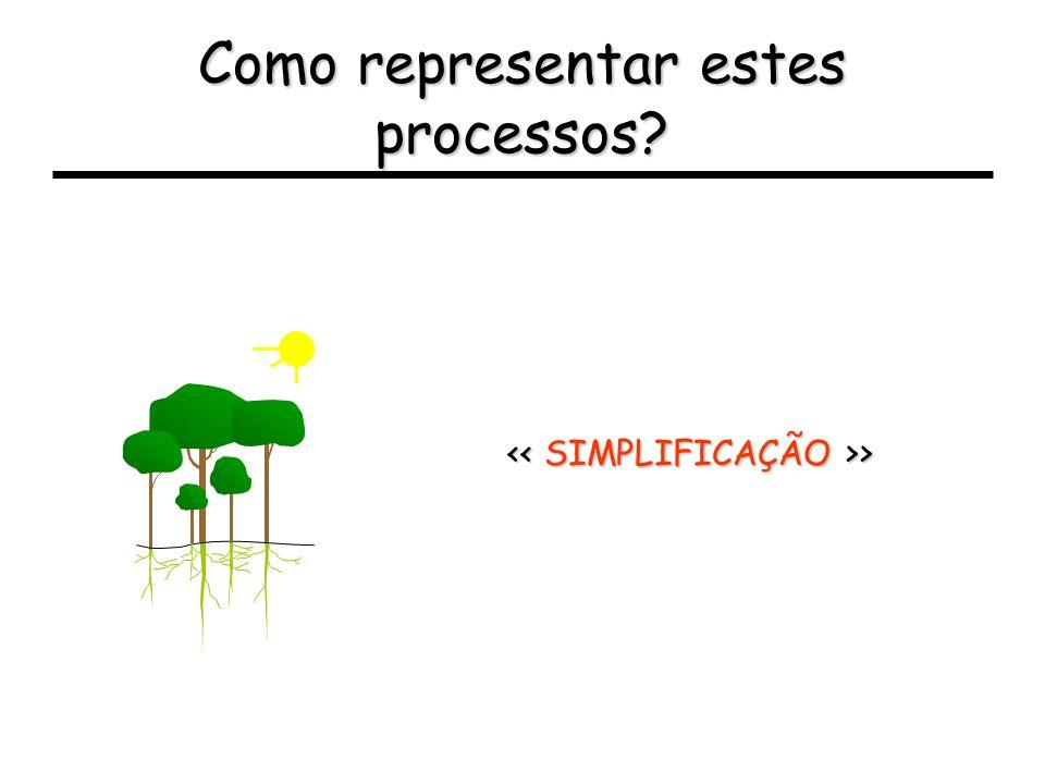 Como representar estes processos
