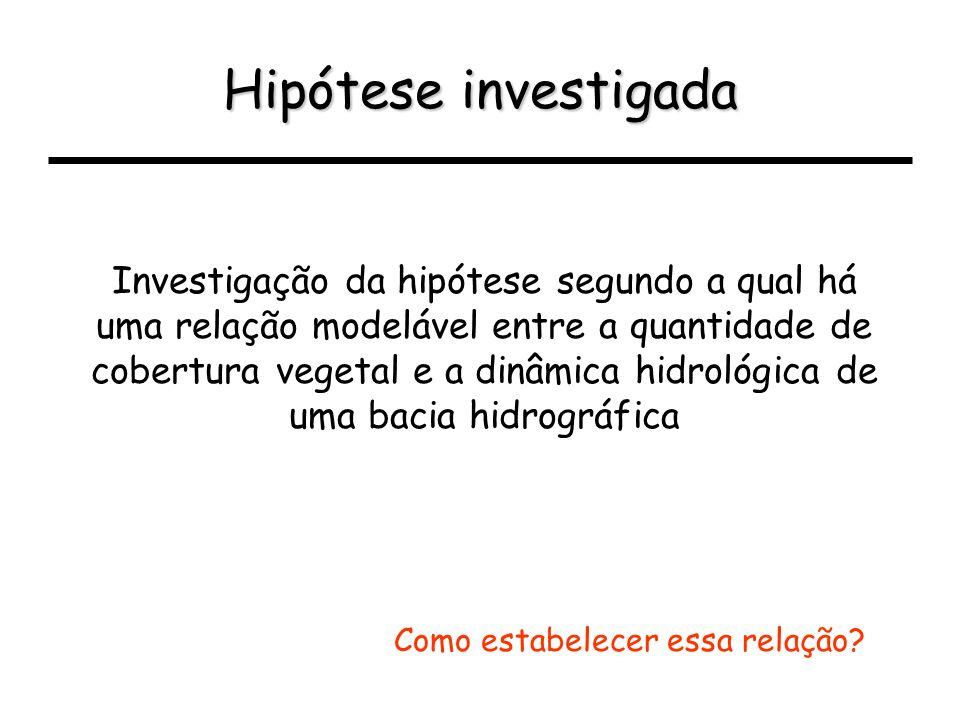 Hipótese investigada