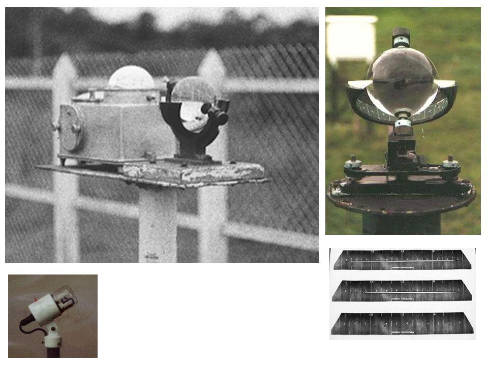Heliógrafo com registrador elétrico