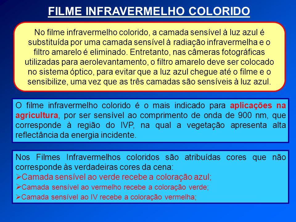 FILME INFRAVERMELHO COLORIDO