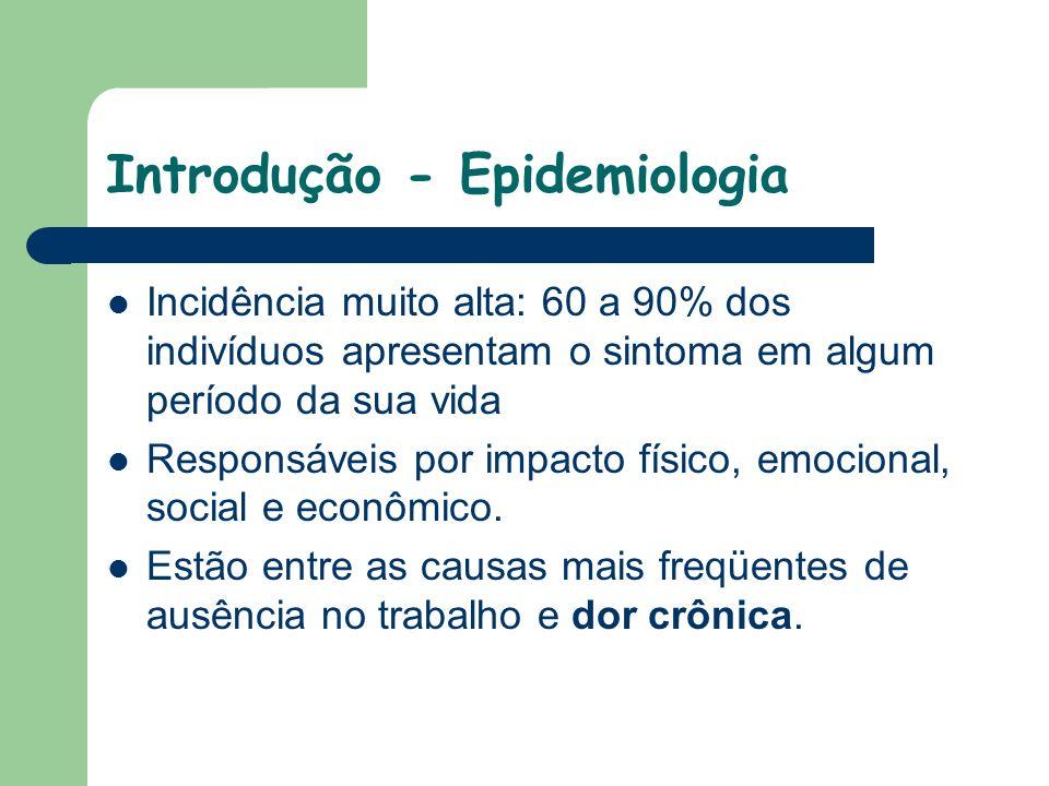 Introdução - Epidemiologia