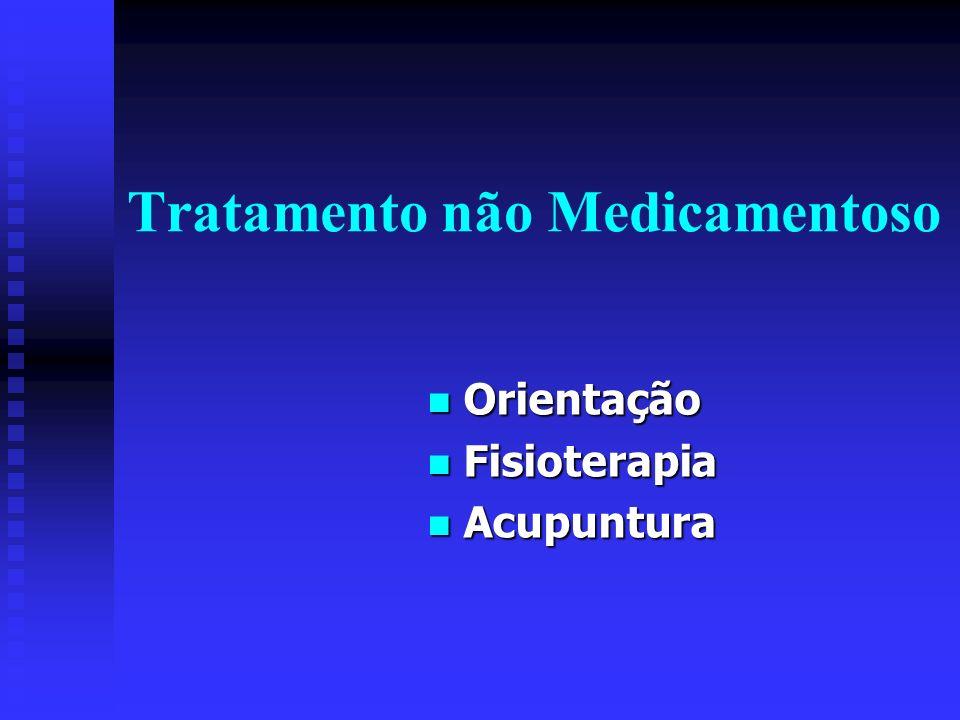 Tratamento não Medicamentoso