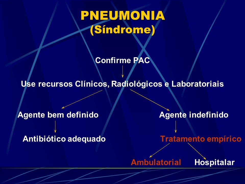 Use recursos Clínicos, Radiológicos e Laboratoriais