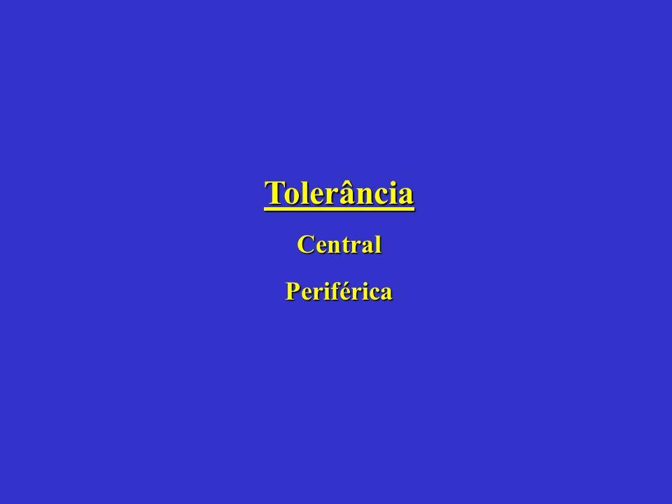 Tolerância Central Periférica